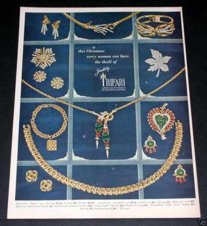 Trifari, Jewels for Christmas (1949)