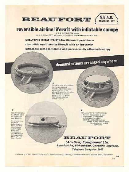 Beaufort Reversible Airline Liferaft Photo (1959)