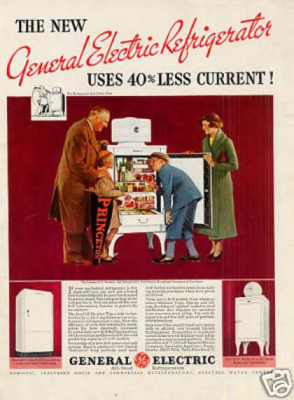 General Electric Refrigerator Color (1935)