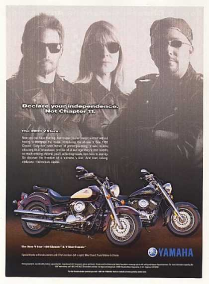 Yamaha V Star 1100 Classic Motorcycle Photo (2000)