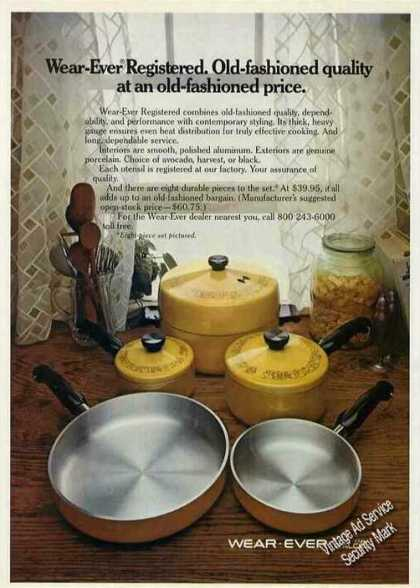 Wear-ever Registered Cookware By Alcoa (1973)