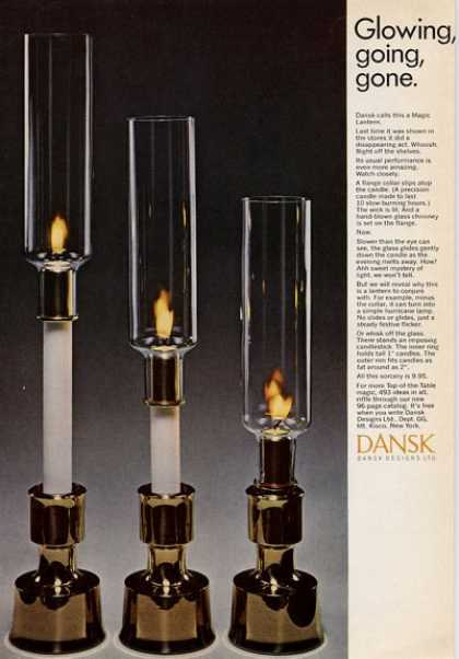 Dansk Magic Lantern Great Detail (1965)