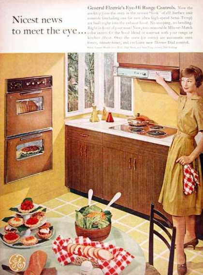 General Electric Cooktop (1961)