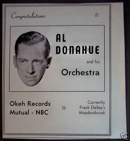 Al Donahue and His Orchestra Music (1940)