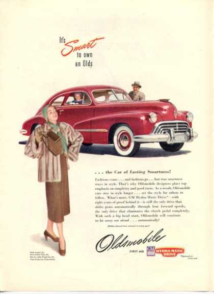 Oldsmobile Maximillan Mink Fur Coat (1947)
