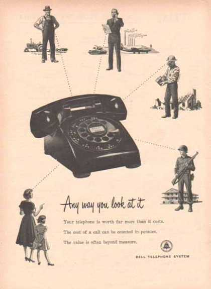 Bell Telephone System – Any way you look at it (1952)