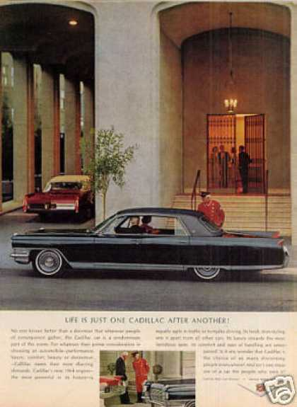 "Cadillac Car Ad ""Life Is Just One... (1964)"
