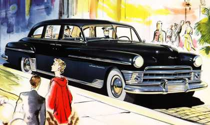 Chrysler Crown Imperial Limousine 			Frederick Siebel (1950)