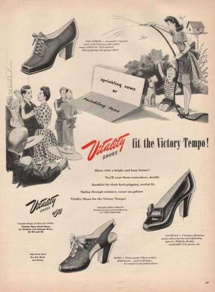 Vitality Fit the Victory Tempo Shoes (1944)