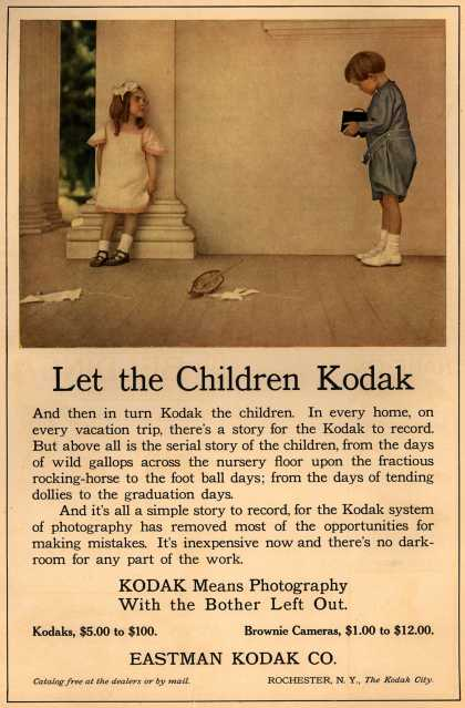 Kodak – Let the Children Kodak (1909)