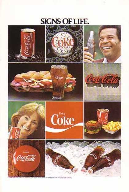 Coke Signs Of Life (1978)