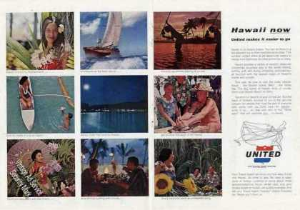 Hawaii Now (9) Photos United Airlines Travel (1963)