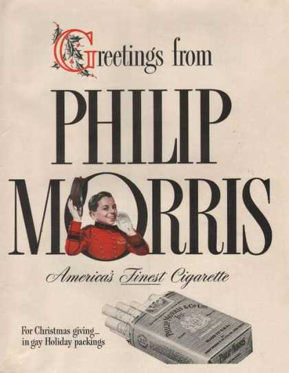 Greetings From Philip Morris Cigarettes (1941)