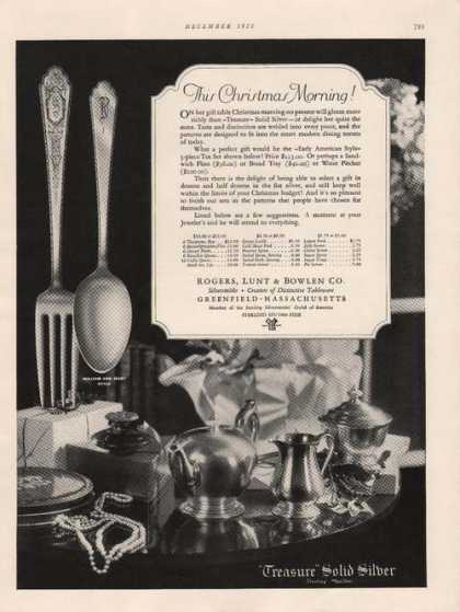 Treasur Solid Sterling Silver (1928)