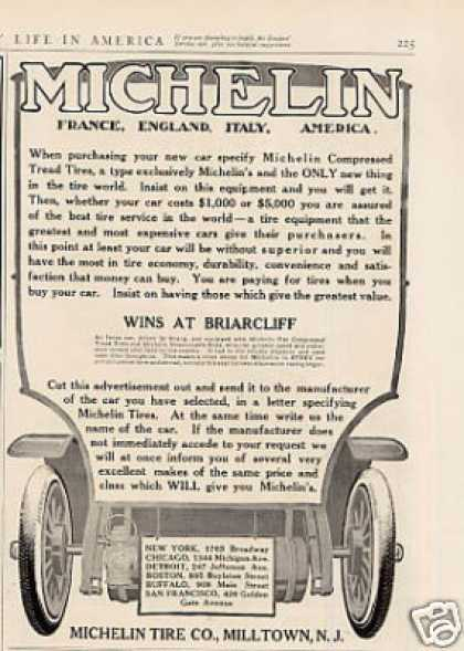 Michelin Tire (1908)