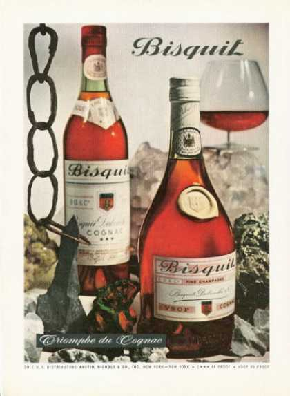 Bisquit Cognac French Champagne (1961)