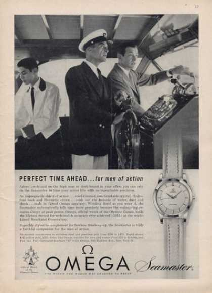 Omega Seamaster Watch Captain (1957)