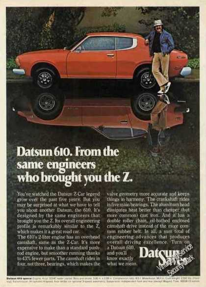 "Datsun 610 From the ""Z"" Engineers Car (1975)"