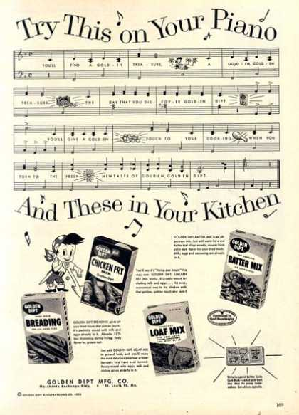 Golden Dipt's Boxed Mixes (1959)