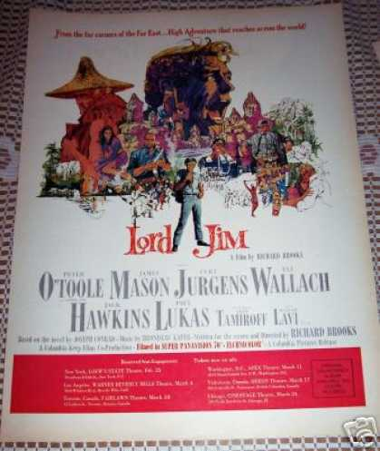 Lord Jim With Peter O'toole Movie Promo (1965)