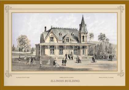 Illinois Building, Centennial International Exhibition (1876)