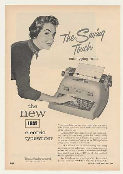 IBM Electric Typewriter (1954)