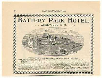 Battery Park Hotel Asheville NC (1894)