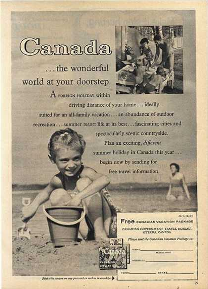 Canada's Vacation Package (1959)