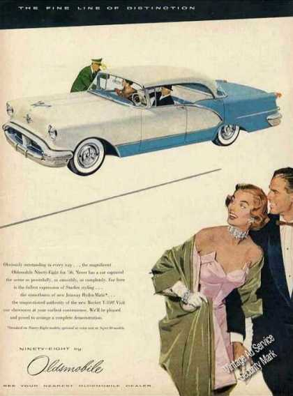 Oldsmobile 98 the Fine Line of Distinction (1956)