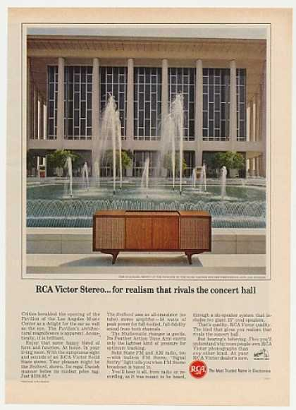 RCA Svalbard Stereo LA Music Center Pavilion (1965)