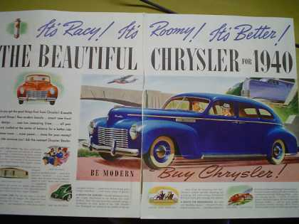 Longer Wide 1940 Plymouth Luxury Ride (1939)
