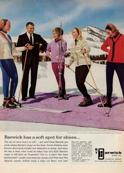 Et Barwick Ski Theme – Snow Carpet (1964)