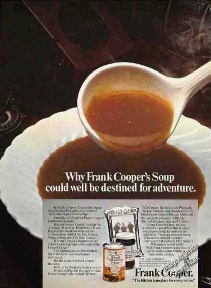 "Frank Cooper's Soup ""Destined for Adventure"" Uk (1974)"