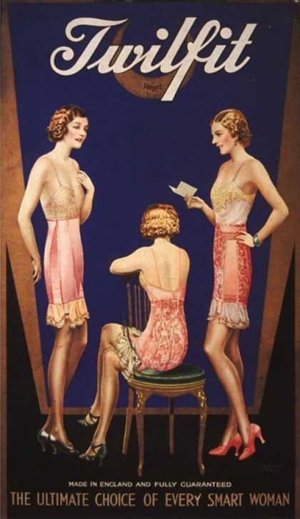 Twilfit Womens Underwear, UK (1920)