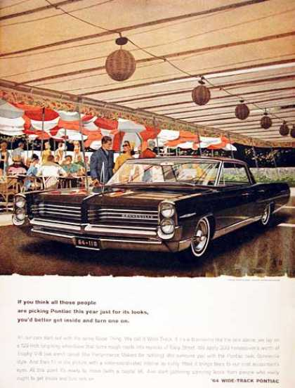 Pontiac Bonneville Sedan #1 (1964)