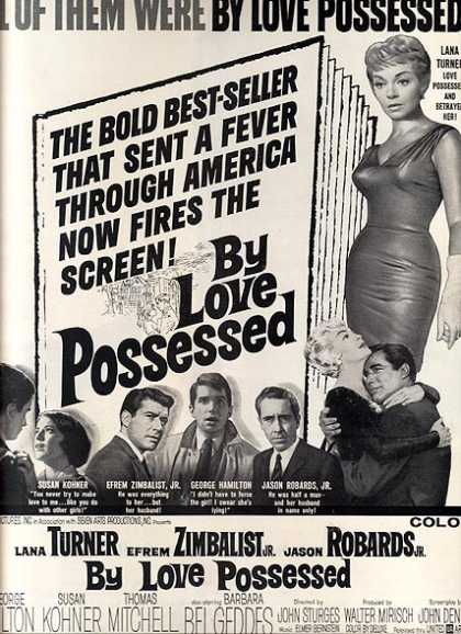 By Love Possessed (Lana Turner, Efram Zimbalist Jr., and Jason Robards) (1961)