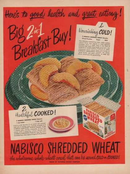 Nabisco Shredded Wheat Cereal (1949)