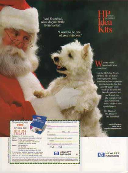 Hewlett Packard – Santa Claus (1997)
