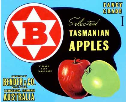 Fancy Grade Selected Tasmanian Apples