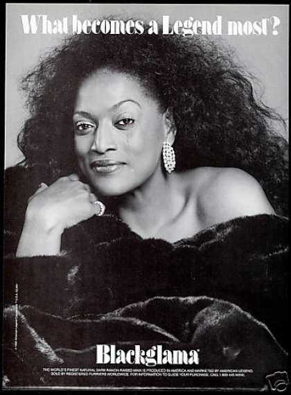 Blackglama Mink Fur Coat Legend Jessye Norman (1992)
