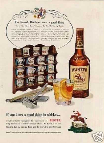 Hunter Whiskey (1952)