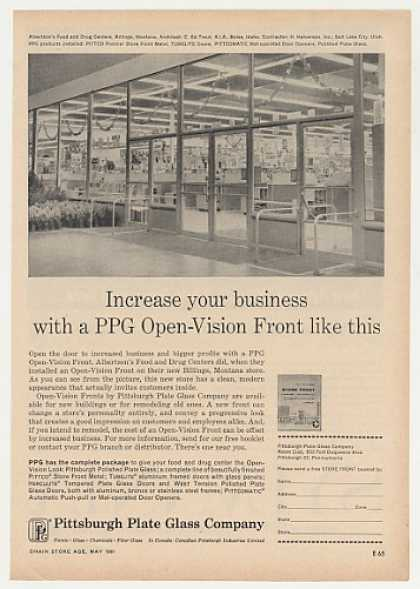 Albertson's Food Store Billings MT PPG Photo (1961)
