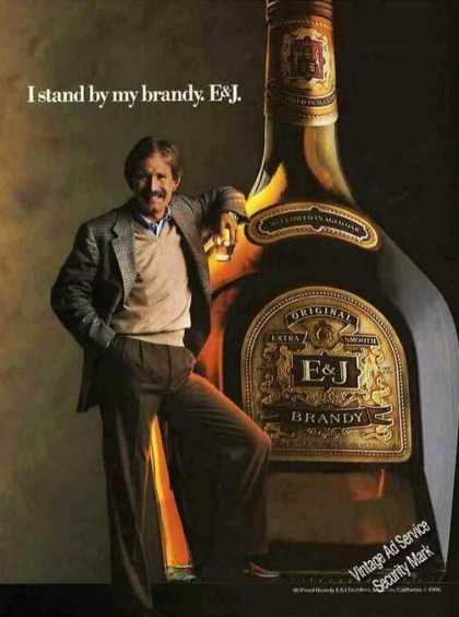 E&j Brandy Very Large Bottle Collectible (1986)