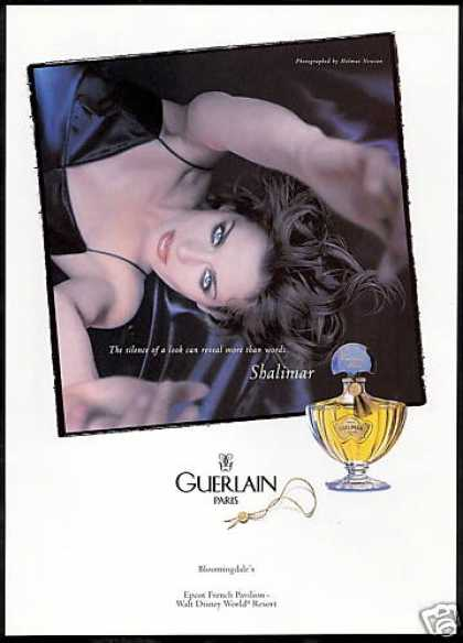 Guerlain Shalimar Perfume Bottle Pretty Woman (1998)