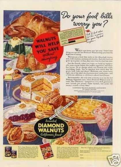 Diamond Walnuts Color (1935)