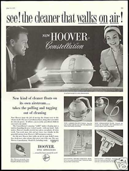 Hoover Constellation Vacuum Cleaner Photo (1957)