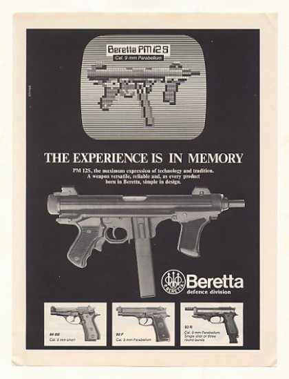 Beretta PM 12S Sub-Machine Gun Photo (1986)