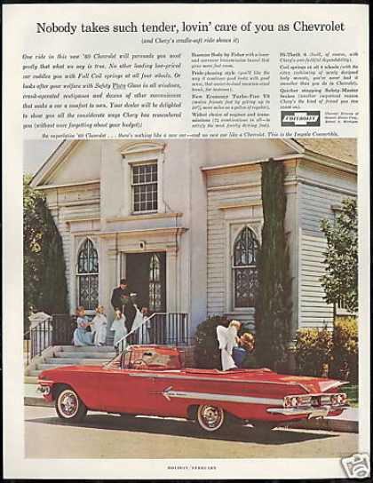 Chevrolet Impala Convertible Car Photo Vintage (1960)