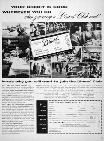 Diners' Club Credit Card (1956)