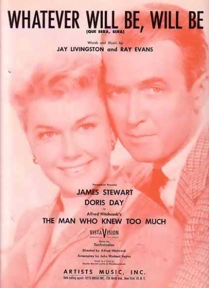 What Ever Will Be, Will Be – Doris Day Movie Sheet Music (1955)